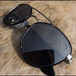 NWOT Prada Aviator Sunglasses